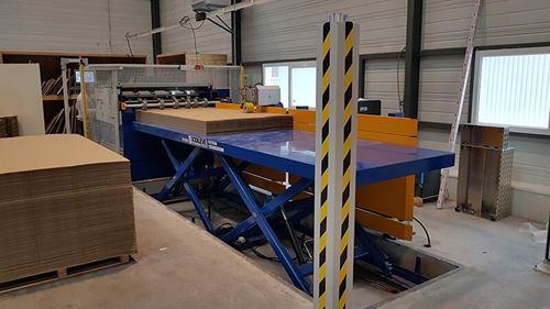 Atelier de fabrication de carton ondulé sur-mesure