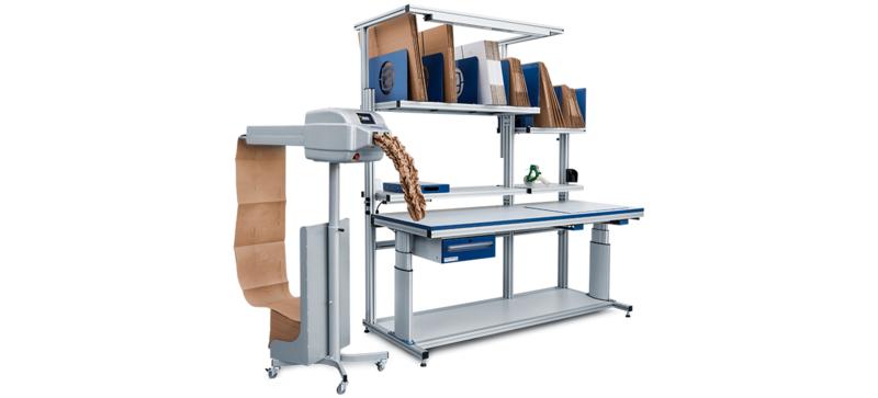 PAPERplus Track production de calage en papier froissé