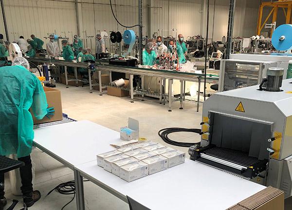 Le challenge BioSerenity : Équiper une usine de fabrication de masques chirurgicaux en seulement 1 mois - ASTIC Emballage Troyes