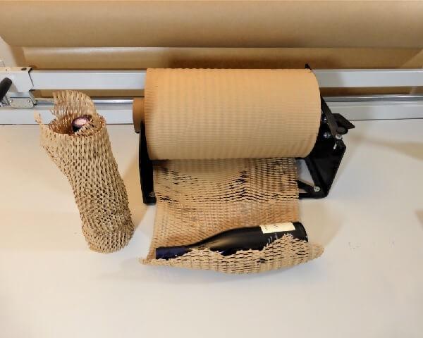 Emballage carton Paperwrap produits fragiles